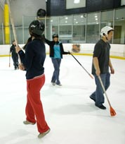 Palm Desert Ice Castle - Broomball